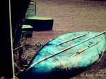 March 2015, Costa Rica. Copyright © Sherley J. Edinbarough (Surely, Sherley and/or SurelySherley), 2015. A boat by the river bank.